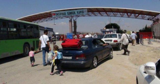 Öncüpınar ve Cilvegözü sınır kapısı gelişlere kapatıldı