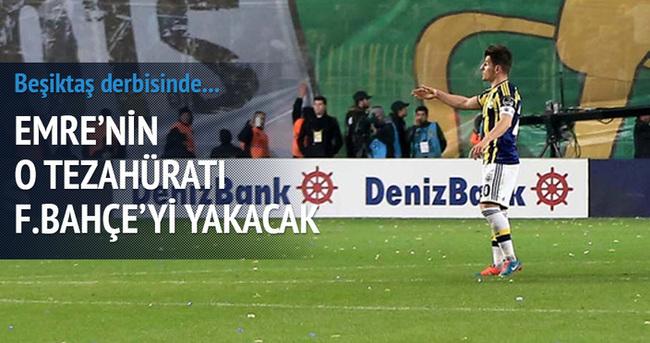 Emre'nin küfürlü tezahüratı Fenerbahçe'yi yakabilir