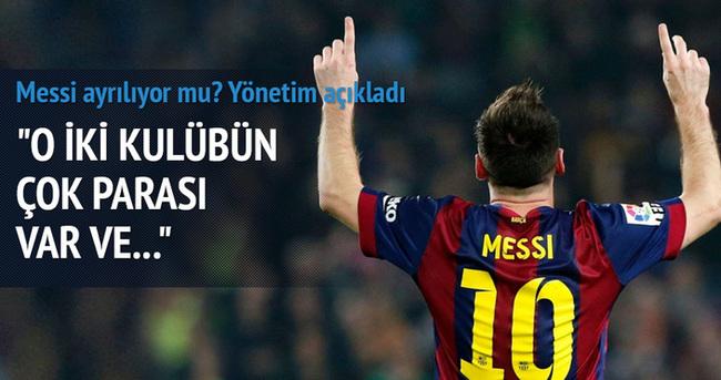 Barcelonalı yöneticiden Messi açıklaması