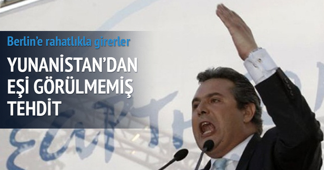 Yunan Savunma Bakanı Avrupa'yı IŞİD'le tehdit etti