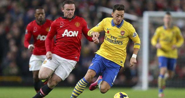 Manchester United Arsenal maçı özeti ve golleri (GENİŞ-ÖZET)