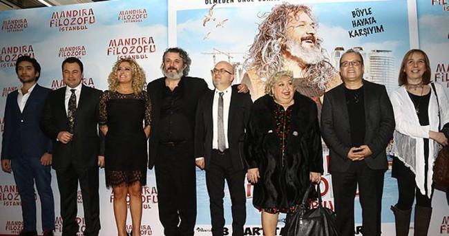 'Mandıra Filozofu İstanbul' filminin galası yapıldı - izle