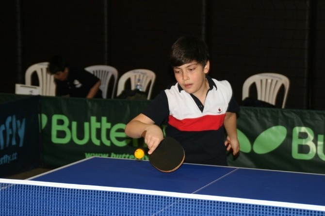 Adana'da Okullararası Küçükler Masa Tenisi Grup Karşılaşmaları
