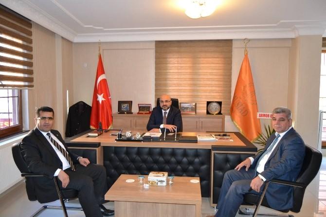 Prof. Dr. Şakir Şahin'den Sivil Toplum Kuruluşlarına Ziyaret