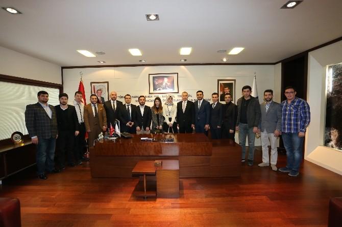 AK Parti İl Gençlik Kolları'ndan Başkan Zolan'a Ziyaret