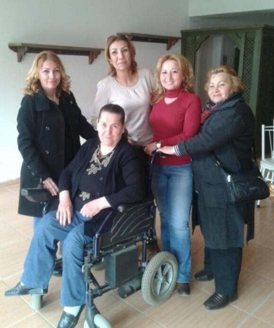 8 Mart'ta Engelli Kadın Hayata Döndürüldü
