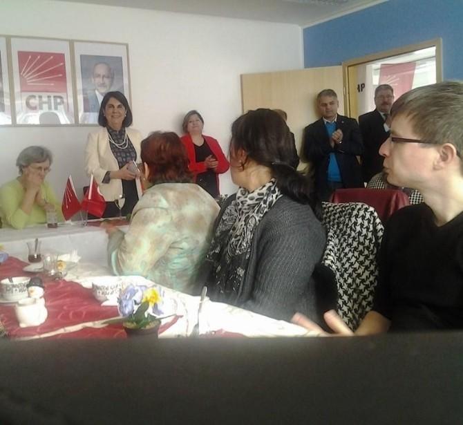 CHP Parti Meclisi Üyesi Prof. Dr. Gaye Usluer Almanya'da