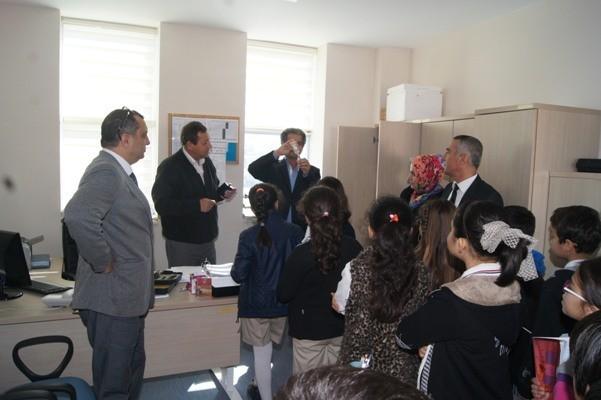 Didimli Öğrenciler Toplum Sağlığı Merkezini Ziyaret Etti