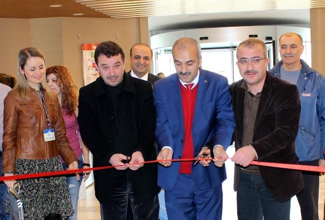 'Merhaba Bahar' Resim Sergisi Memorıal Dicle Hastanesi'nde