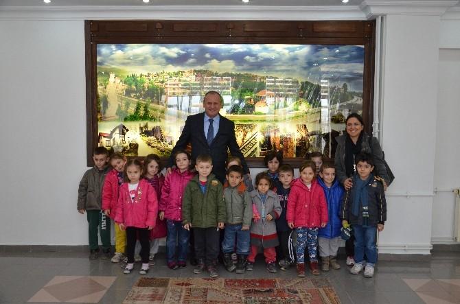 Konuralp Anaokulu'ndan Başkan Keleş'e Ziyaret