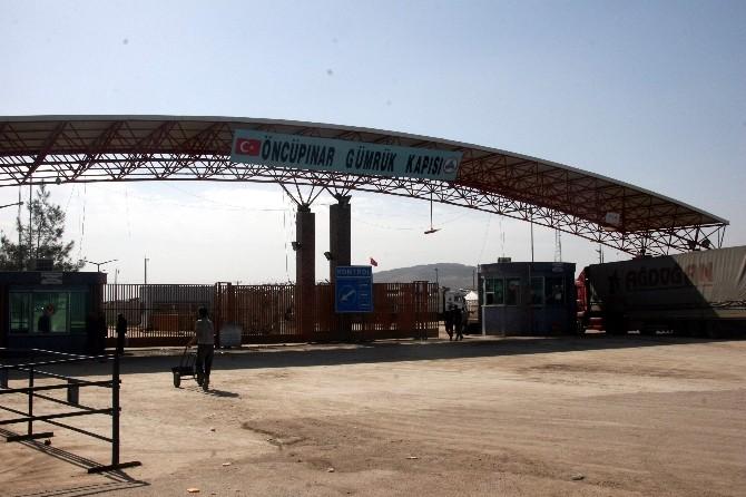 Öncüpınar Sınır Kapısı Suriye'den Gelenlere Güvenlik Gerekçesiyle Kapatıldı