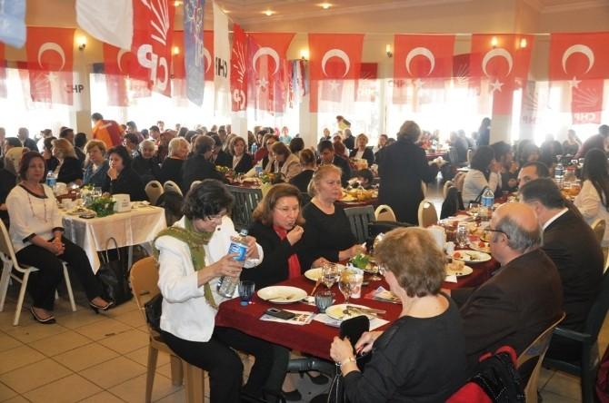 CHP Ödemiş'ten 8 Mart Kahvaltısı