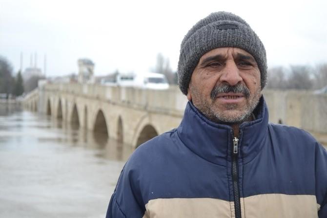 Edirne'de Nehir Debileri Kırmızı Alarm Veriyor