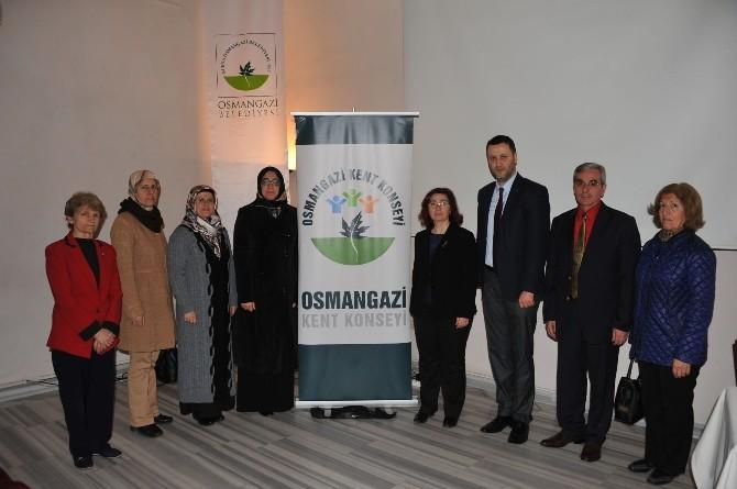 Osmangazi Kent Konseyi Kadın Meclisi Kadına Şiddeti Kınadı