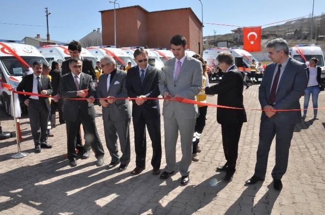 Sağlık Bakanlığı Sivas'a 9 Yeni Ambulans Gönderdi