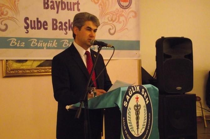 Sağlık Sen Bayburt Şube Başkanı Fikret Lökoğlu'dan Kadınlar Günü Açıklaması