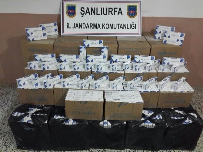 Şanlıurfa'da Uyuşturucu Ve Kaçak Sigara Operasyonu
