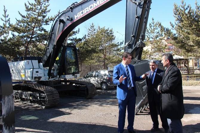 Sivas İl Özel İdaresi Makine Parkını Güçlendiriyor