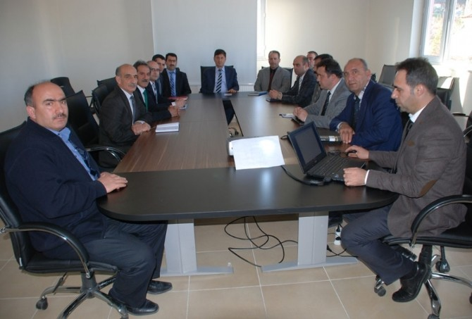 Tunceli'de TEOG Ve YGS Değerlendirme Toplantısı