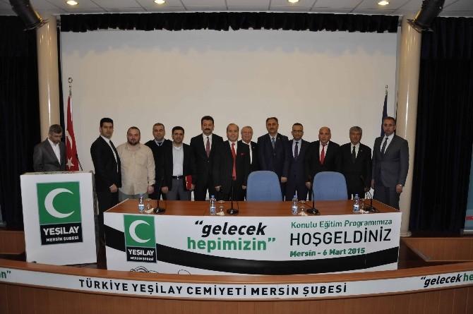 Mersin'de Yeşilay Haftası Kutlandı