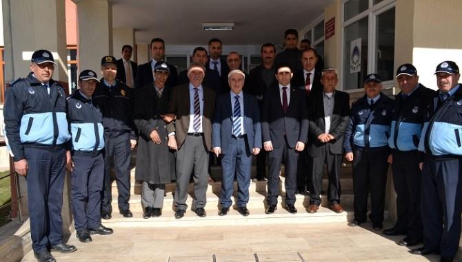 Vali Süleyman Kamçı, Doğanşehir'i Ziyaret Etti