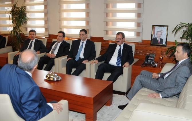 GSO Yönetiminden Vali Yerlikaya'a Ziyaret
