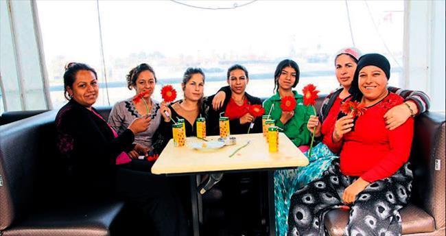 Büyükşehir, Zeytinköylü kadınları yatla gezdirdi