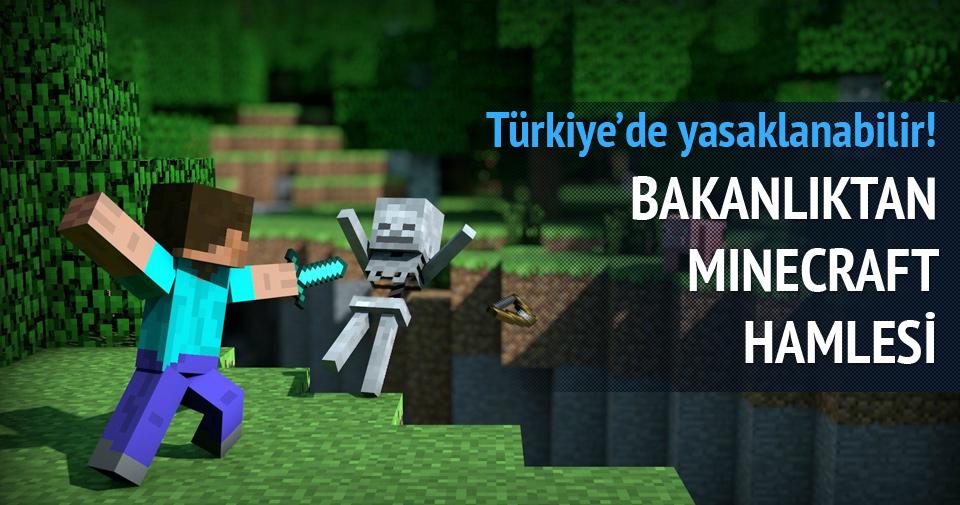 Aile Bakanlığı: Minecraft yasaklansın