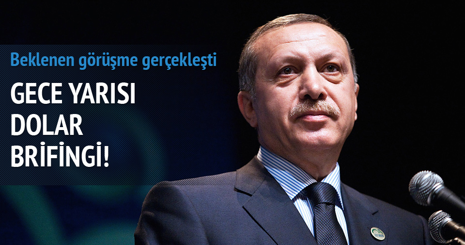 Cumhurbaşkanı Erdoğan'a gece brifingi