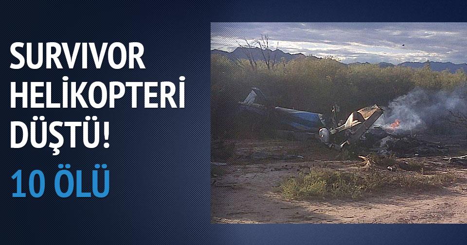 Arjantin'de 2 helikopter çarpıştı: 10 ölü