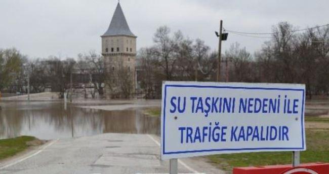 Edirne'de yine taşkın riski