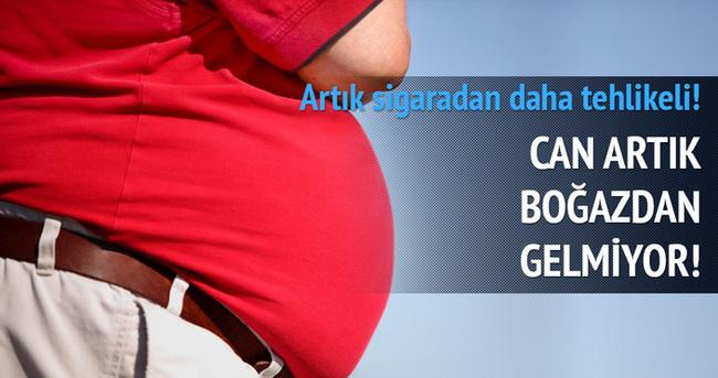 Obezite sigaranın da önüne geçecek