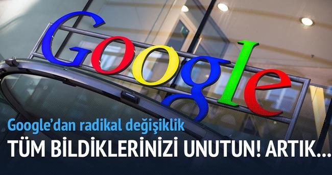 Google'dan radikal değişiklik! Artık aramalar...