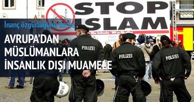 Fransız polisinden inanç özgürlüğüne aykırı muamele