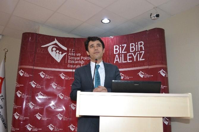 Erzurum'da 'Koruyucu Aile Eğitimi' Sertifika Töreni
