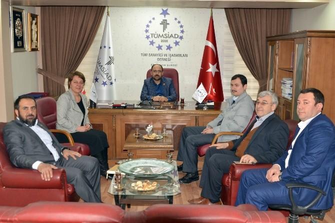 Prof.dr. Arzu Çiçek TÜMSİAD'ı Ziyaret Etti