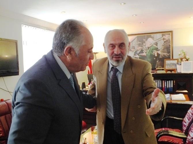 Kandaşoğlu'ndan Müftü Arvas'a Ziyaret