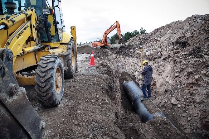 Kavşakkaya-çubuk-2 Barajları Arası Destek Hattı Tamamlandı