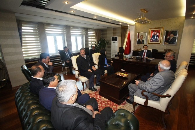 DBP'li Meclis Üyelerinden Vali Işın'a Ziyaret