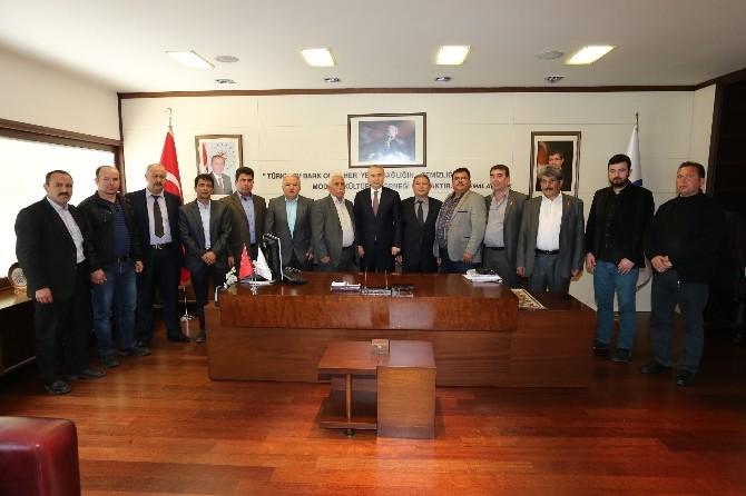 Bekillili Muhtarlardan Başkan Zolan'a Ziyaret