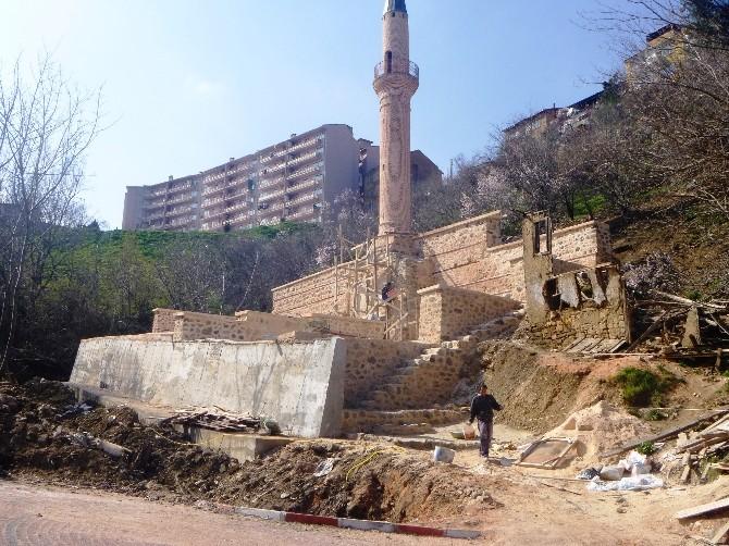 Bilecik'teki Tarihi Osmangazi Camii Restore Ediliyor