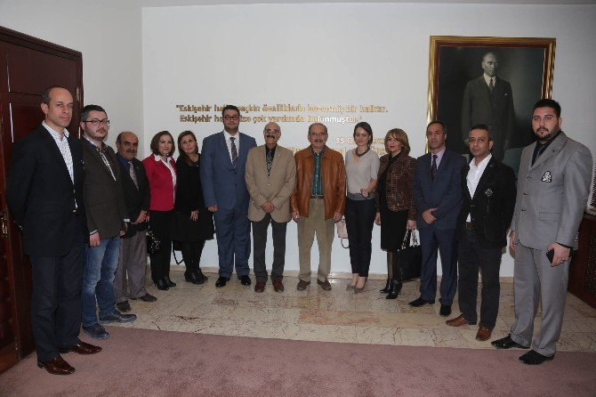 Cumhuriyet Halk Partisi'nden Büyükerşen'e Ziyaret