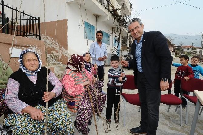 Karşıyaka'da İki Bin Fidan Dağıtıldı