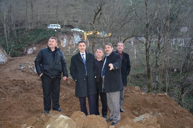 Belediye-vatandaş İşbirliğiyle Yol Açma Çalışmalarında Mutlu Sona Yaklaşıldı