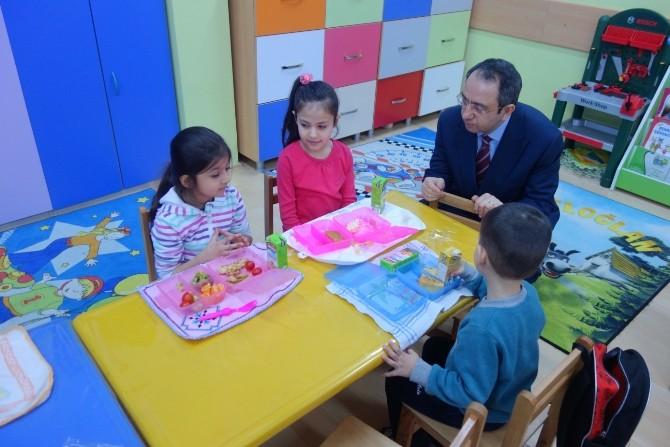 Çerkezköy Kaymakamı Kubilay Okul Denetimine Çıktı