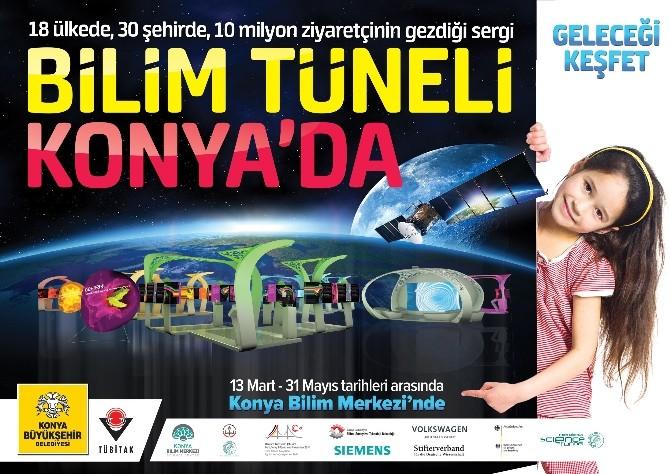 Dünyaca Ünlü Bilim Tüneli Konya'da