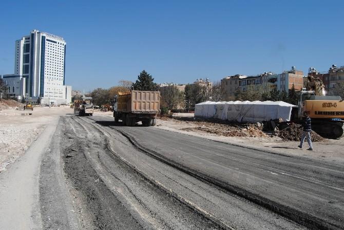 Şanlıurfa'da Yol Yapım Çalışmaları