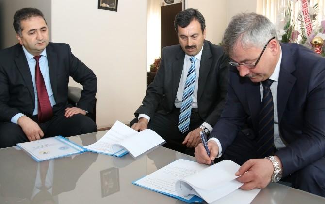 Saruhanlı Belediyesi'nden İşbirliği Protokolü