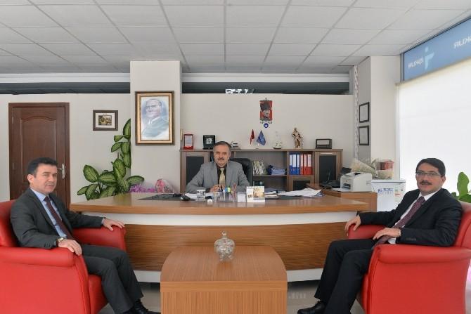 Başkan Ömer Faruk Çelik'ten İŞKUR'a Ziyaret