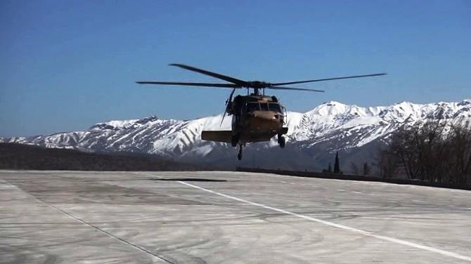 Balkondan Düşen Çocuk TSK Helikopteriyle Hastaneye Yetiştirildi